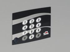Coffres forts à code électronique et clés de secours